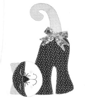 Patchwork: Gato com Molde