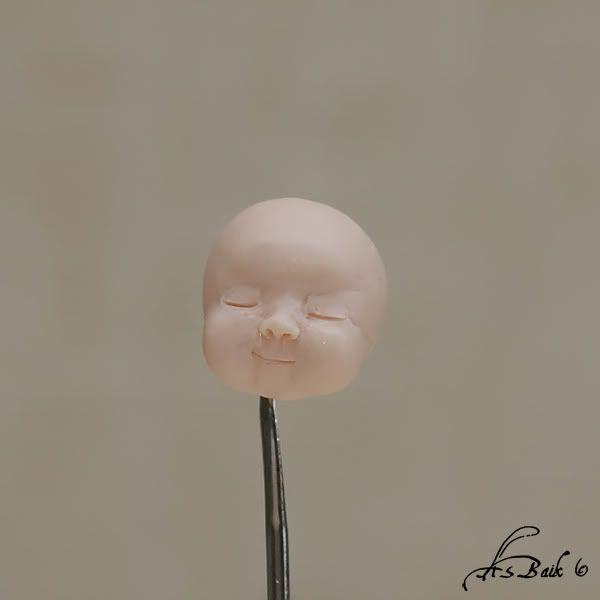 Лепим голову младенца (Часть I) - Ярмарка Мастеров - ручная работа, handmade