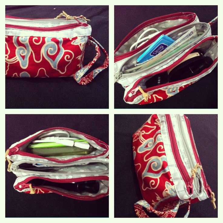 Triple pouch By Zenia