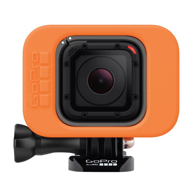 GoPro Camera Accessories - GoPro Floaty For Hero4 Session Camera - Orange