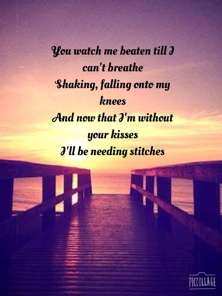 Lyric allele stitches lyrics : 20 best Song lyrics images on Pinterest | Song lyrics, Lyrics and ...
