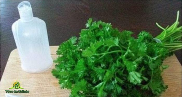 In questo articolo, andremo a presentarvi una lozione fatta in casa di foglie di prezzemolo e limone (o aceto di sidro di mele)! Questa lozione rinfrescante vi aiuterà a sbiancare la pelle e pulire il viso da macchie scure e acne e la pelle diventerà sana e lucente di nuovo! La preparazione è estremamente facile! È possibile utilizzare questa lozione ogni giorno per la cura del viso. Il prezzemolo è ricco di vitamine e sali minerali. Il suo succo contiene oli essenziali con un alto luogo…