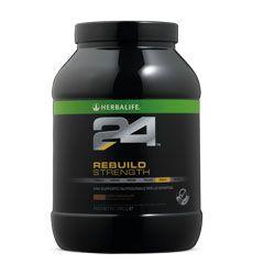 Rebuild Strength: Bevanda proteica, da usare dopo l'allenamento.Contiene 25g di proteine, che contribuiscono alla crescita e al mantenimento della massa magra e favoriscono il recupero nei muscoli affaticati. Ideale per : Chi fa palestra. Chi pratica CrossFit, dopo l'allenamento. Il calciatore che deve sviluppare la massa magra. Chiunque abbia bisogno di un elevato apporto di proteine. Consumare entro 30 minuti dopo l'attività física. Per info http://www.goherbalife.com/elenadellavella/it-IT