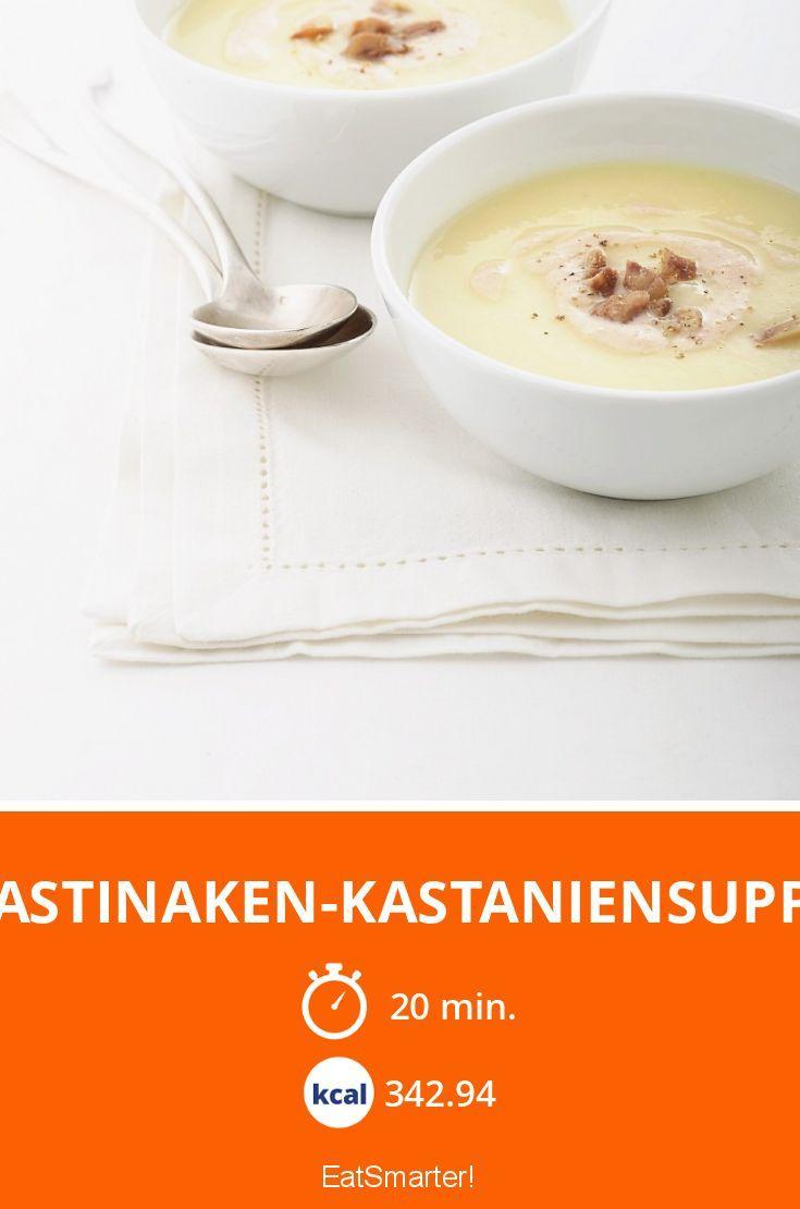 Pastinaken-Kastaniensuppe - smarter - Kalorien: 342.94 kcal - Zeit: 20 Min.   eatsmarter.de