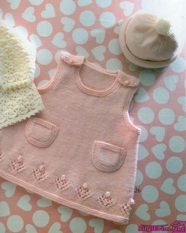 Bebek Örgülerinden Seçmeler Yeni Sezon Modelleri (30)