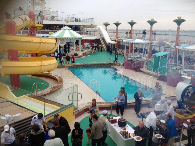 Pool party på NCL Jade