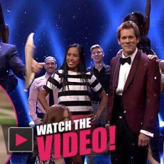 Best 'Tonight Show' Entrance EVER! Kevin Bacon Recreates 'Footloose'   Radar Online