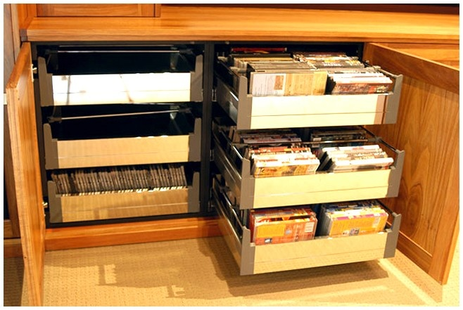 17 Best Ideas About Dvd Storage Solutions On Pinterest