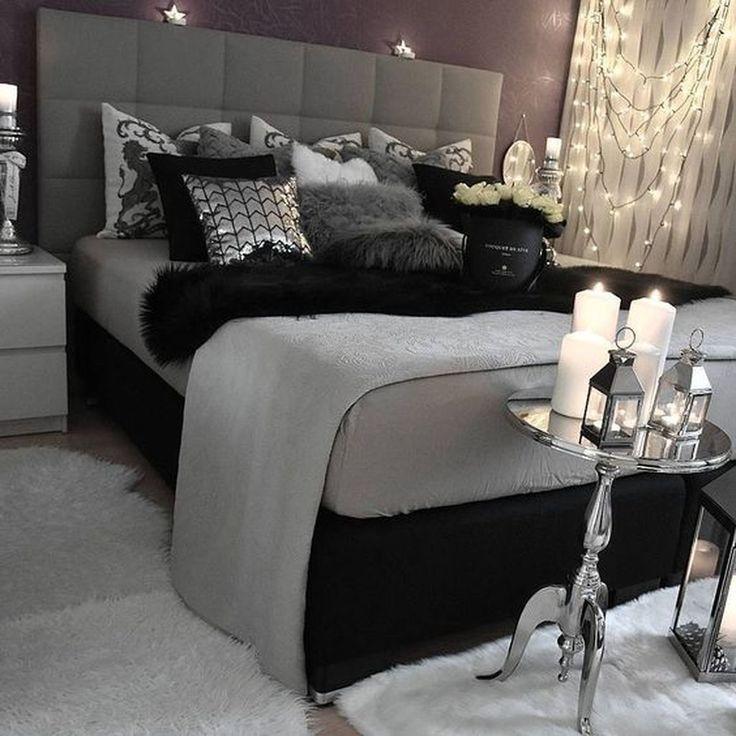 10 Romantic Bedroom Ideas For Couples In Love In 2020 Black