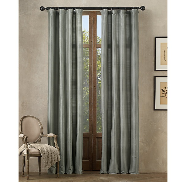 Silver Sage Silk Drapes Living Room Blue Silver Pinterest Colors Products And Stripes