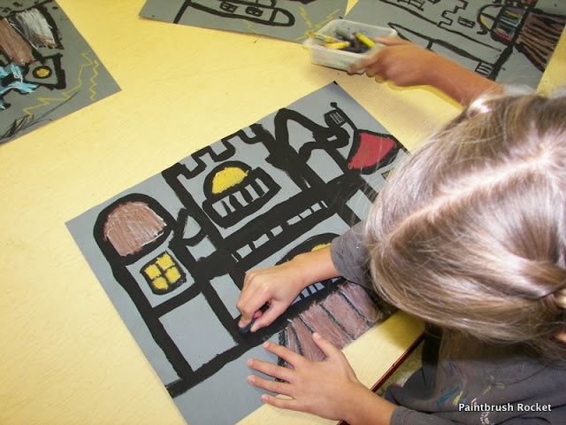 painted castles