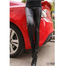 2015 fashion women latest design around 250g black 2types choice PU leather fashion pants women Best Seller follow this link http://shopingayo.space