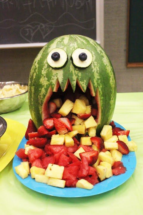 watermelon monster-super für jeden Kinder Geburtstag :-)