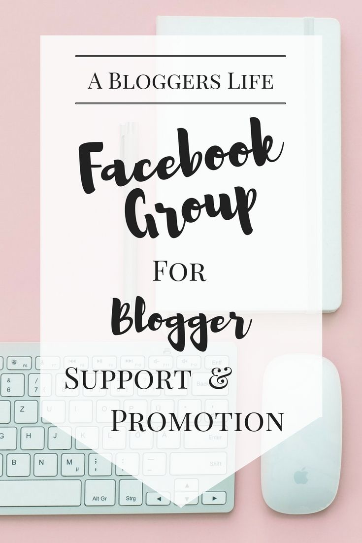 Facebook Group for Blogger Support and Promotion