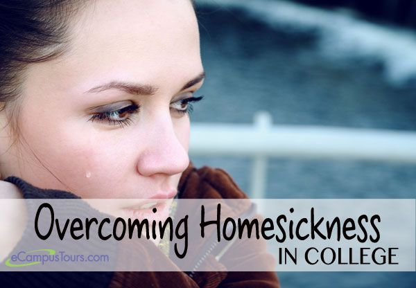 overcoming homesickness in college
