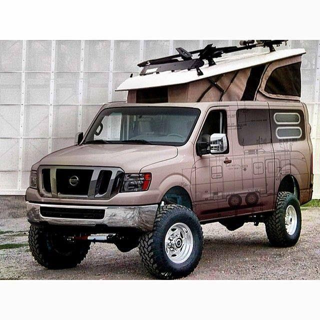 2016 Nissan Nv3500 Hd Passenger Exterior: 39 Best Nissan NV Aluminum Winch Bumpers Images On