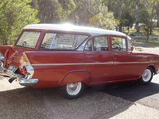 1962 Holden EK Special Station Wagon. Features most of the optional nasco genuine accessories. v@e