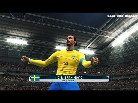 Norway vs Sweden | Full Match & Goals Highlights | PES 2017 Gameplay