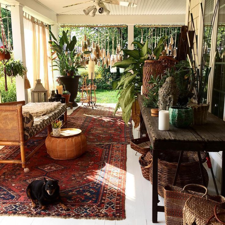 Ultimate Bohemian Patio / Sacred Spaces <3