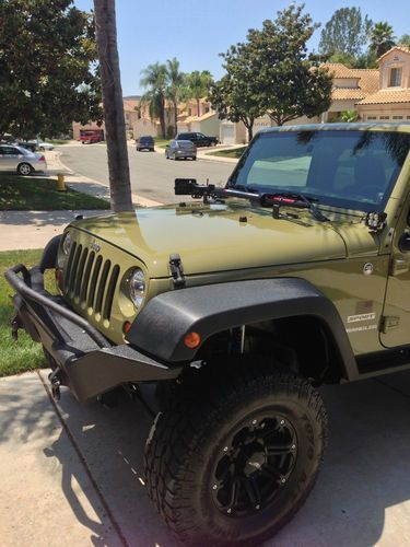 jeep commando green | Sell used 2013 Jeep Wrangler Sport 2-Door Commando Green Auto with ...