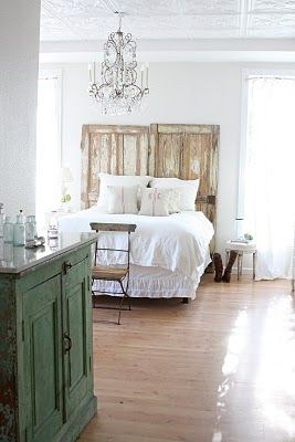 Romantic rustic/vintage bedroom
