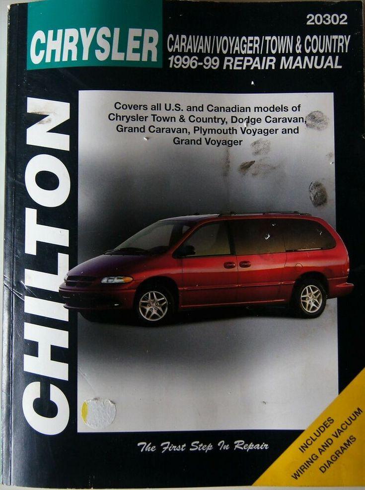 Chilton Repair Manual Dodge Caravan Voyager And Town Country 1996 99 20302