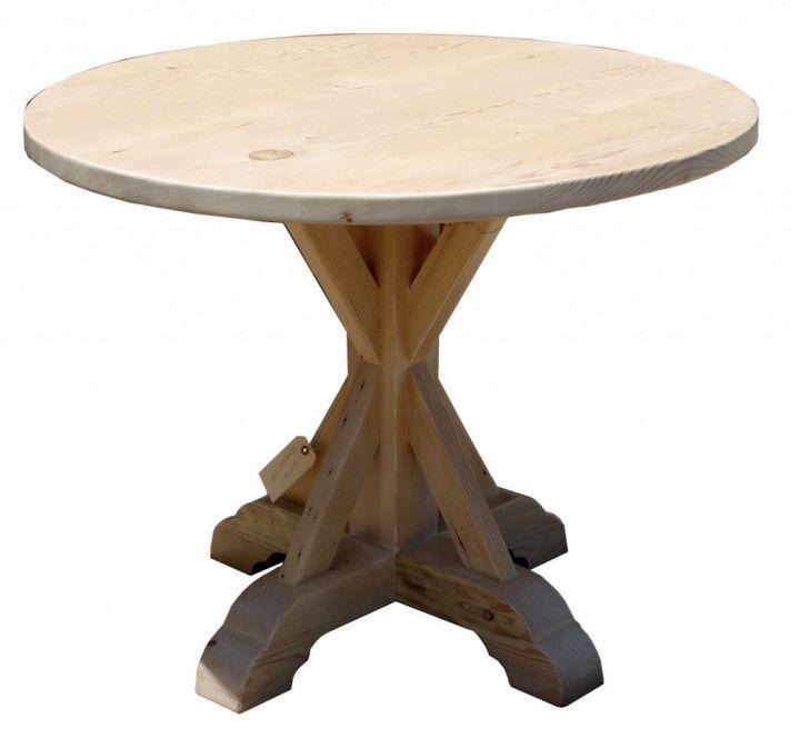 rustic pedestal table base ideas - Pedestal Table Base