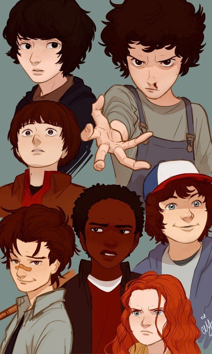 Steve And His Kids Stranger Things Fanart Stranger Things Wallpaper Stranger Things Art