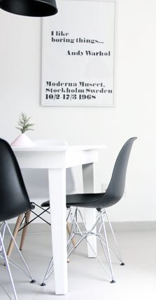 Via Ale Besso   Eames   White   Moderna Museet   Muuto Unfold
