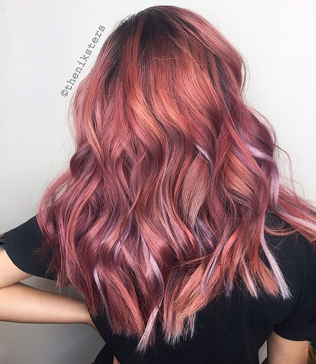 17 best images about hair on pinterest rose gold ombre
