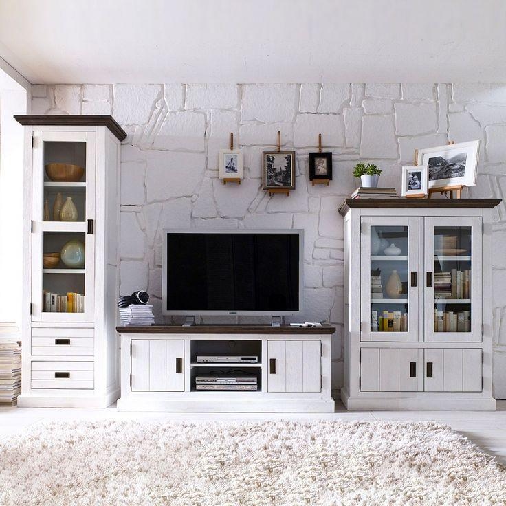 80 best Wohnwand images on Pinterest - wohnzimmer deko weis