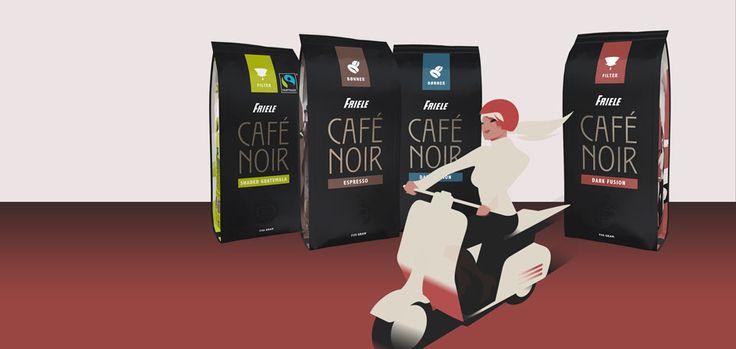 Friele Café Noir kaffe — Friele