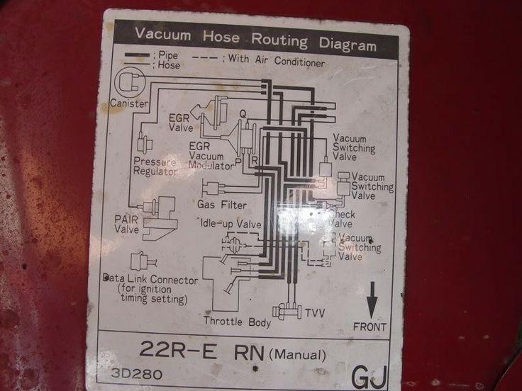 22re Vacuum Diagram A Vacuum Diagram Like This