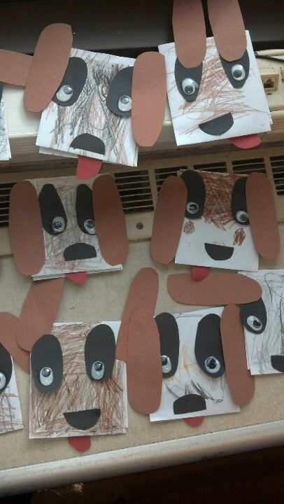 Envelope dog craft - no instructions with this link - just the photo