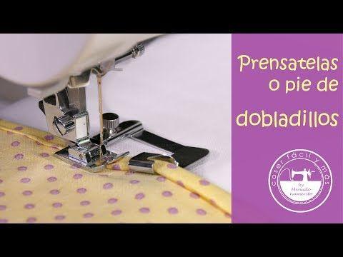 """El blog de """"Coser fácil y más by Menudo numerito"""" - Costura creativa: 3 prensatelas para coser dobladillos"""
