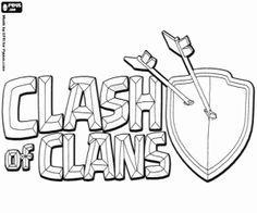 ausmalbilder clash of clans – Ausmalbilder für kinder
