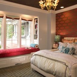 Bedroom Window Seat Design,