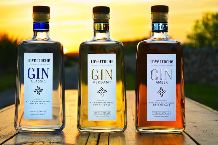 Gin from Inverroche Distillery - find them at the FoodWineDesign FAir!