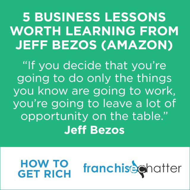 5 Business Lessons Worth Learning from Jeff Bezos
