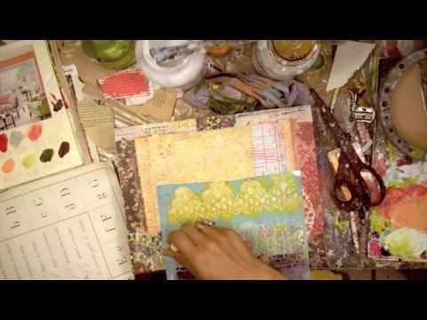 Mixed Media From The Heart Online Class Teaser