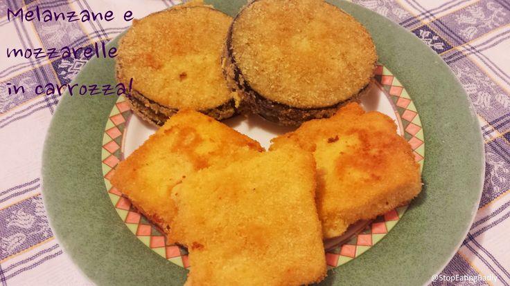 STOP EATING BADLY!: Mozzarelle in carrozza!