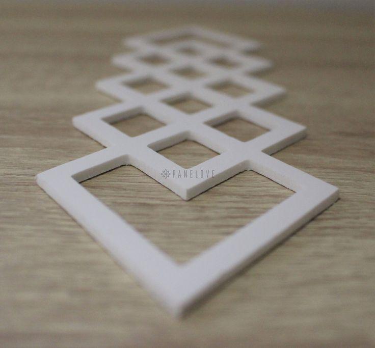 dekor geometryczny do mebli - romby 1