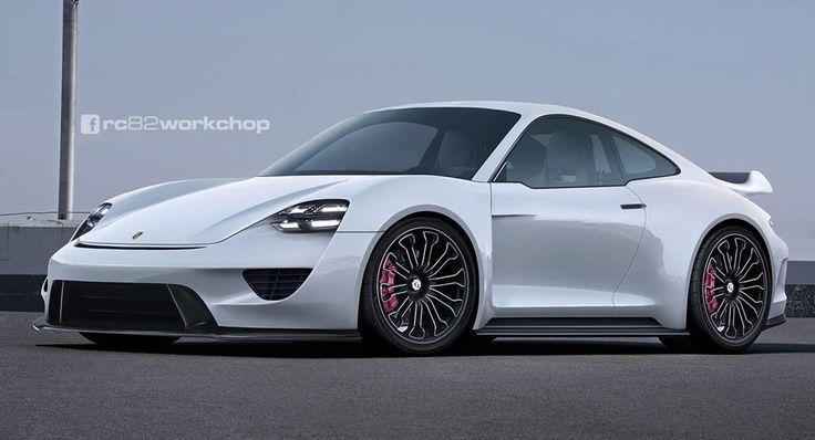 Porsche Mission-E Electric 911 Concept