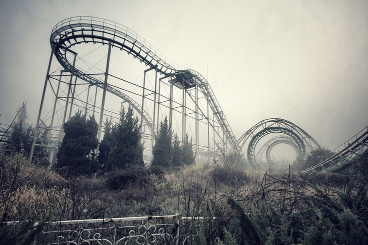 Nara Dreamland, Japan   Photograph by Chris Luckhardt. Prints available at http://www.chrisluckhardt.com Wikipedia defines Urban Exploration (often shortened as urbex or UE) as: The exploration of man-made structures, usually abandoned ruins or not usually seen components of the man-made environment. Photography and historical interest/documentation are heavily featured in the hobby.