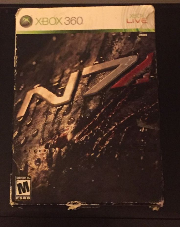 Mass Effect 2 Collector's Edition (Microsoft Xbox 360, 2010) Complete in Video Games & Consoles, Video Games | eBay