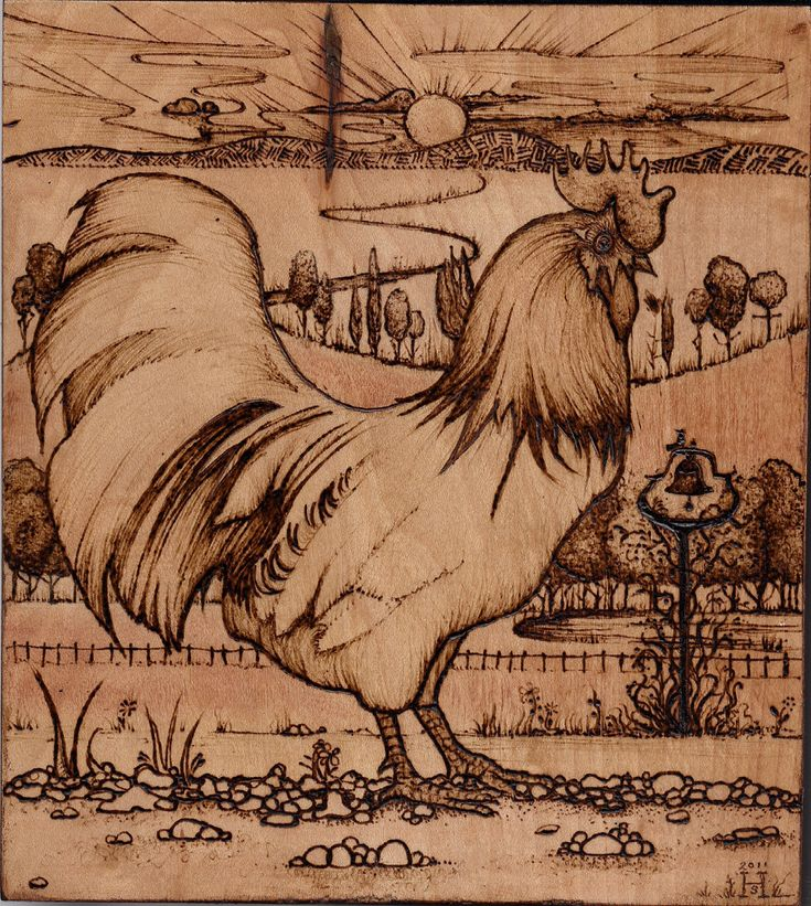 Rooster Craft Wood Burning Pinterest Roosters