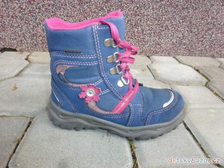 Zimní boty Superfit za 400 Kč | Dětský bazar