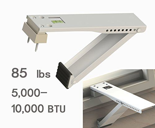 Jeacent Universal Window Air Conditioner Support Bracket Light Duty, Up to 85 lbs., for 5,000-10,000 BTU AC,1 Piece