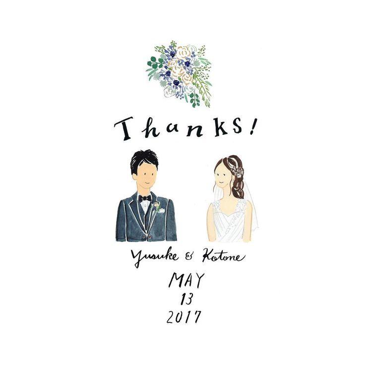 Thanks Card も承っております☺︎ お花は当日花嫁さんが持つブーケを描いております おめでとうございます 過去の作品は #cuicui_illustboard でご覧いただけます #cuicui_wedding #welcomeboard #welcomespace #illustration#illustrator #bridal #wedding #プレ花嫁#花嫁#ウェルカムボード #ウェルカムスペース #イラスト #イラストレーション#新郎新婦#結婚式#結婚準備 #結婚式場 #ウェディングドレス #instagood #instawedding #席次 #招待状 #invitationcard #invitation #flower #結婚準備 #bouquet