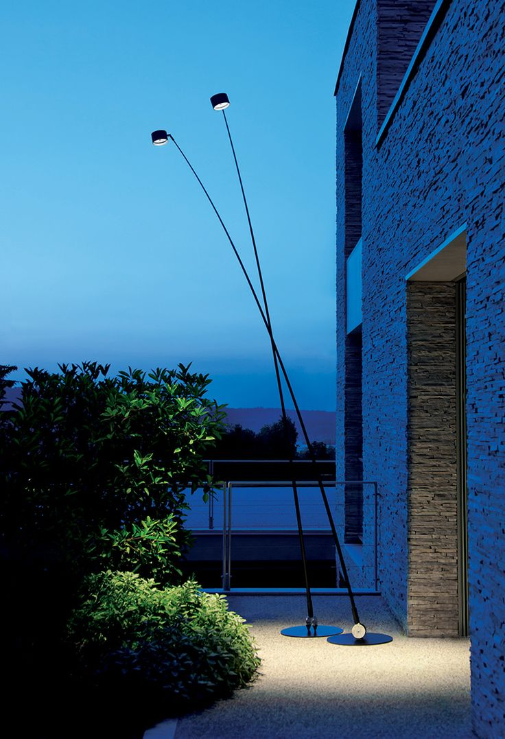Outdoor floor lamps with heavy bases - Outdoor Floor Lamp